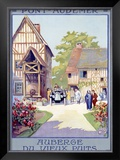 Pont-Audemar Framed Giclee Print by  Alo (Charles-Jean Hallo)