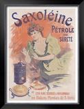 Saxoleine Framed Giclee Print by Jules Chéret