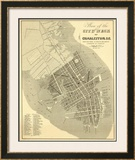 Charleston, South Carolina, c.1844 Framed Giclee Print by William Keenan