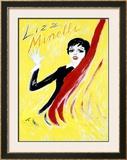 Liza Minelli Framed Giclee Print by  Junot