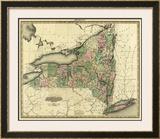 New York, c.1823 Framed Giclee Print by Henry S. Tanner