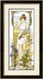 Fleurs des Champs Framed Giclee Print by Elisabeth Sonrel