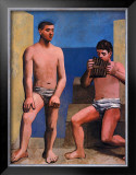 La Flute de Pan, c.1923 Art by Pablo Picasso