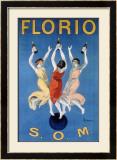 Florio O.M. Framed Giclee Print by Leonetto Cappiello