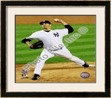 Andy Pettitte Game Six of the 2009 ALCS Framed Photographic Print