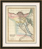 Aegyptus Antiqua, c.1823 Framed Giclee Print by Fielding Lucas