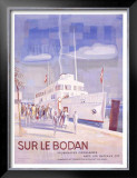 Sur le Bodan Framed Giclee Print by Otto Baumberger