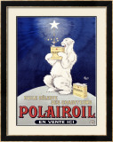 Polairoil Framed Giclee Print by  Mich (Michel Liebeaux)