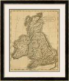 United Kingdoms, c.1812 Framed Giclee Print by Aaron Arrowsmith