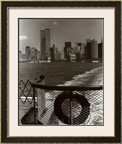 Manhattan from Ferry Prints by Christopher Bliss