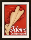 Idene Framed Giclee Print by Johannes Handschin