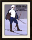 Wilhelm Braun Massgeschaft Framed Giclee Print by Carl Moos