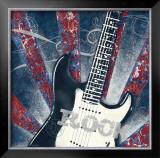 Rock Guitar Prints by Sam Appleman