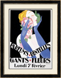 Parfums Dentelles Framed Giclee Print by  Gronowski