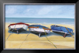 Beach Boats, St. Ives Posters by Jane Hewlett