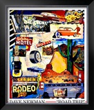 Road Trip Framed Giclee Print by Dave Newman