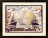 Voyage au Tour du Monde Framed Giclee Print by Emil Jakob Schindler