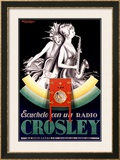 Crosley Framed Giclee Print by Achille Luciano Mauzan