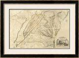 Composite: Virginia, c.1776 Framed Giclee Print by Thomas Jefferys
