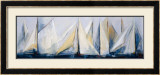 First Sail II Print by María Antonia Torres