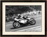 Roberts GP Yamaha Laguna Framed Giclee Print by Jerry Smith