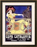 Copa Catalunya Framed Giclee Print by J. Muntanya