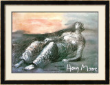 Reclined Figure Posters by Henry Moore
