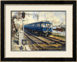 Glasgow Electric circa 1960s Framed Giclee Print by Terence Tenison Cuneo