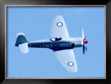 Super Marine Seafire Framed Giclee Print by Graham Collins