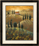 Tuscan Sunflowers I Posters by Marshall Banks