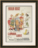 Moulin Rouge: L'Amour Libre Poster by Joe Bridge