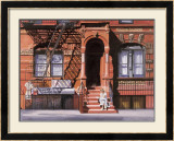 Sunday Afternoon, Lower East Side, New York Prints by Anthony Butera
