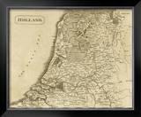 Holland, c.1812 Framed Giclee Print by Aaron Arrowsmith