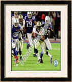 Reggie Bush Super Bowl XLIV Framed Photographic Print
