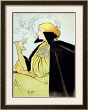 Job Papier and Cigarettes Framed Giclee Print by Atche