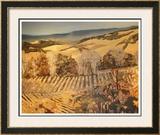 Autumn Vineyard Prints by Silvia Rutledge