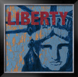 Liberty Reigns Posters by Sam Appleman