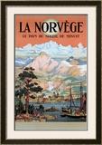 La Norvege Framed Giclee Print by Arent Christensen