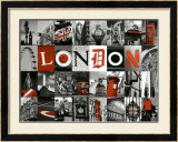 Mosaïque London Poster by Jean-jacques Bernier