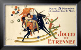 Jouets et Etrennes Framed Giclee Print by Leonetto Cappiello