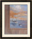 Sailing at Sunset I Prints by Vivien Rhyan