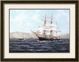 The Barque Annie Johnson Prints by Henry Scott