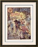 Bebeli Framed Giclee Print by P. Marc