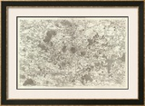 Paris, France, c.1762 Framed Giclee Print by Cesar-francois Cassini