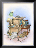 Game Time Framed Giclee Print by Gary Patterson