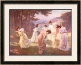Meadow Frolic Prints by Leopold Kowalsky