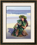 Patience Framed Giclee Print by Ronald Laes