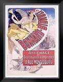 Bonnard Framed Giclee Print by Jules Chéret