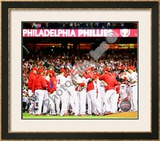 2009 Philadelphia Phillies 2009 National League Champions Framed Photographic Print