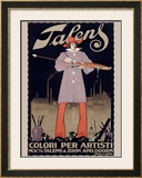 Talens Framed Giclee Print by  Alphen